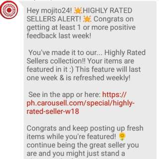 Thanx Carousell
