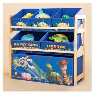 Free Delivery Ready stocks Kids Toys Storage Rack/Storage Shelf/Toys/Kid Book shelf/Container Box