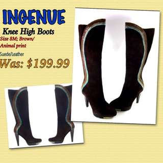 INGENUE Knee-High Boots