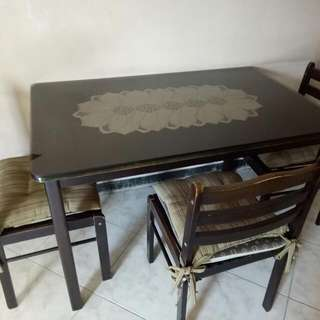 dining table n sofa set