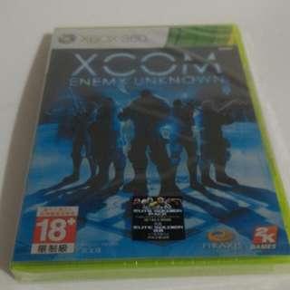 🚚 XBOX 360全新未拆封原裝片--XCOM 未知敵人《XCOM: Enemy Unknown》