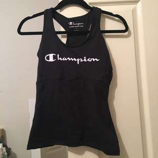Champion Women's Tank Top With Inbuilt Bra