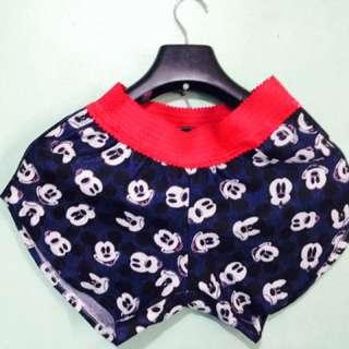 Maong Mickey Dolphin Shorts