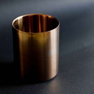 Fill Me Up - HAY Design Inspired - Brass Stainless Steel Tin Can