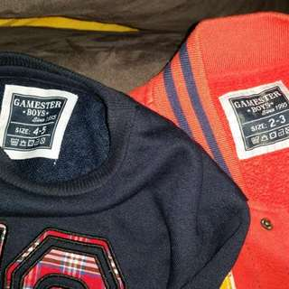 Boy Sweater/ Jacket (2 pcs As In Picture)