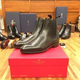 🚚 Carmina chelsea boot 西班牙製 小牛皮 手工鞋 雀爾喜靴(loake c&J G&G )