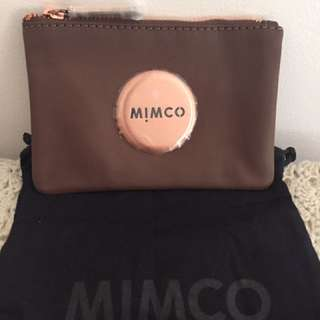 Mimco Small Pouch BNWT (Fudge)