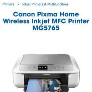 Canon Copy Scan Color Print