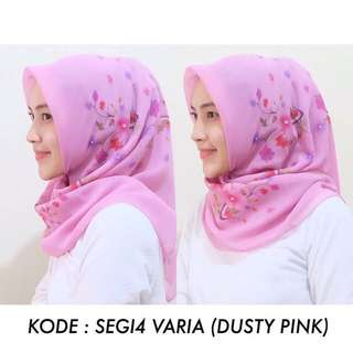 SQUARE VARIA DUSTY PINK