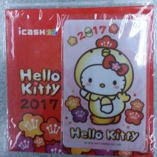 hello kitty 金雞報喜icash2.0愛金卡