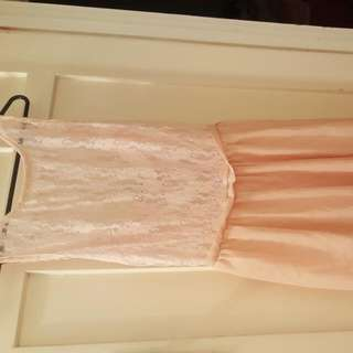 Peach Evening Dress