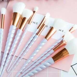 Unicorn Makeup Brush Iridescent White Brush