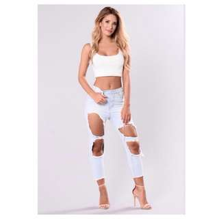 Fashionnova Money Maker Boyfriend Jeans Small