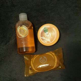 Take All The Body Shop Freebies! !!