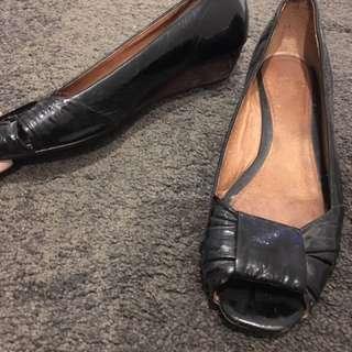 Leather Top Shop Shoes