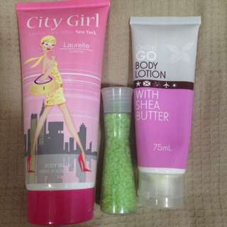Body Lotion, Body Wash And Salts Bundle