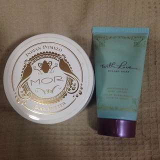 Hilary Duff And MOR Body Butter