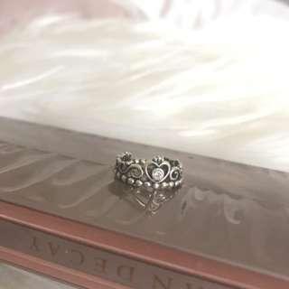 Pandora Princess Crown Ring Authentic