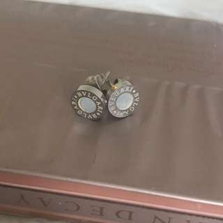 Bulgari / Bvlgari Earrings With Pearl