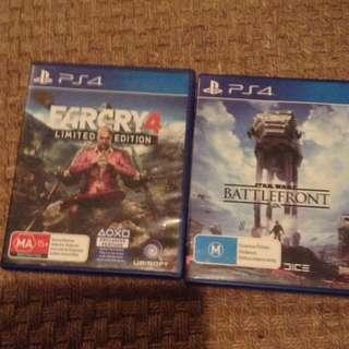 6 PlayStation 4 Games