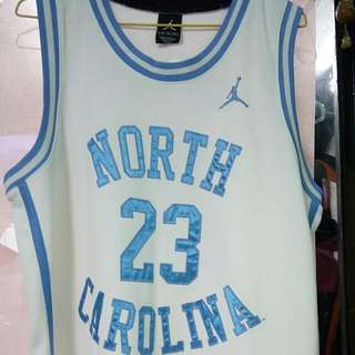 Jordan North Carolina UNC Home Jersey