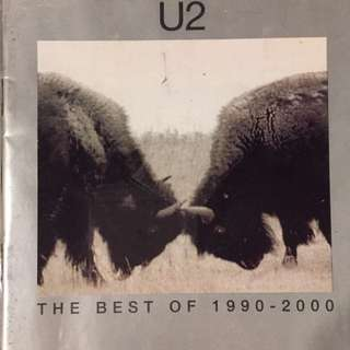 U2 - The Best of 1990 - 2000 2 MUSIC CD  w/ VCD
