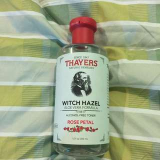 Thayers Witch Hazel Aloe Vera Formula - Rose Petal Toner