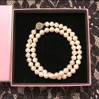 母親節禮物 papilio天然珍珠項鍊