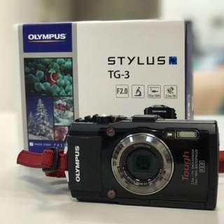 Olympus Tough TG-3 大光圈防水相機