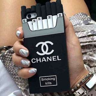 Chanel Cigarette Phone Cover For iPhone & Samsung