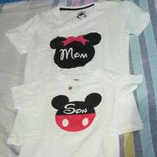 Mother and child shirts
