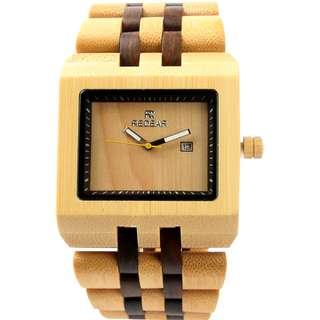 Redear Glasgow Series Bamboo Wood Wooden Watch