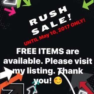 RUSH SALE!!!!!