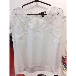 Forever 21 See Through Top