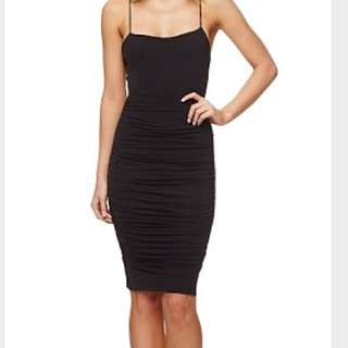 Kookai Black Strappy Dress