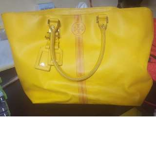 Tory Burch Roslyn Coated Canvas Tote