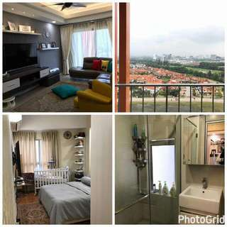 SURIA JELUTONG FULLY FURNISHED 3ROOMS & 2BATHROOMS