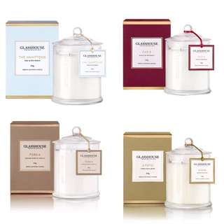 WANTED: Glasshouse candles
