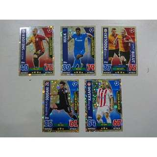 Topps UEFA C.LEAGUE 2016 Trading Cards