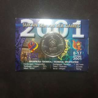 SEA GAMES XXI LIMITED EDITION COIN