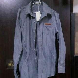 灰色襯衫XL