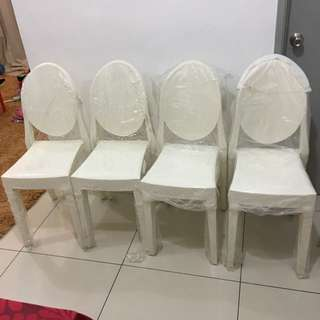 GHOST CHAIR ( selling cheapppppppp!!!! )