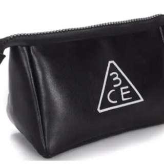 「現貨」新款韓國3ce小化妝包長三角時尚大容量 全新