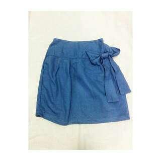Blue Ribbon Skirt