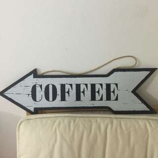 Coffee decor Signboard