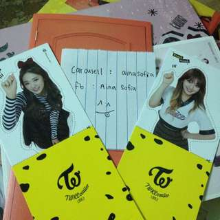 Twice Tzuyu And Jihyo Knock Knock Goods