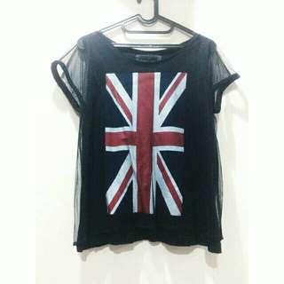 UK Fishnet T-shirt