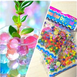 Crystal Water Flower Soil Bead decorations