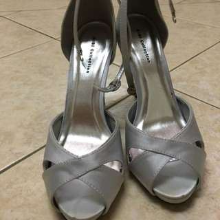 Formal Silver Shoes
