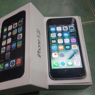 Iphone 5s 16gb Gray 100% Ori Ex Inter